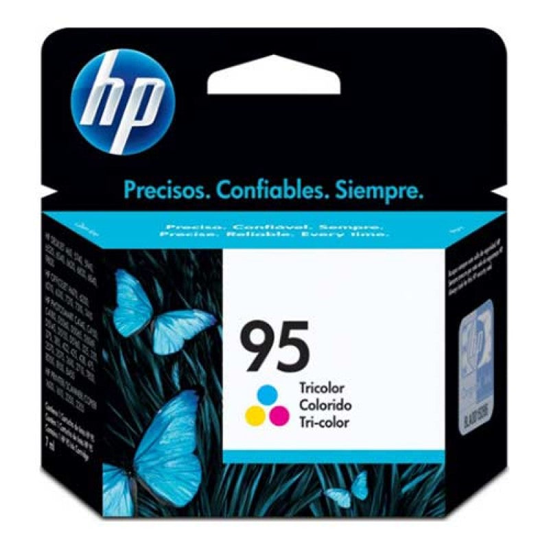 OEM HP 95, C8766WN Ink Cartridge Tri-Color - Cyan/Magenta/Yellow - 260 Pages
