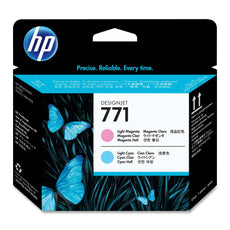 Original HP 771, CE019A DesignJet Printhead - Light Cyan and Light Magenta