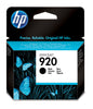 Original HP 920, CD971AN Ink Cartridge Standard Yield - Black - 420 Pages