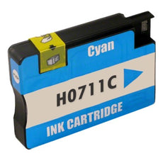 Compatible HP 711, CZ130A Ink Cartridge - Cyan - 29ml