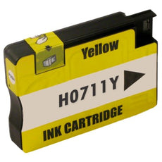 Compatible HP 711, CZ132A Ink Cartridge - Yellow - 29ml