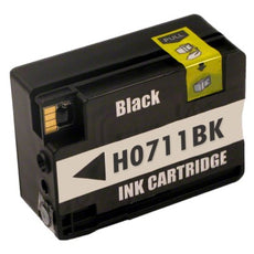 Compatible HP 711, CZ133A Ink Cartridge - Black - 80ml