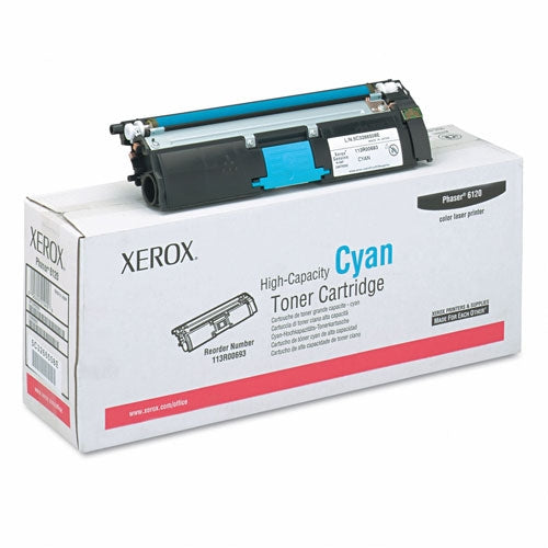 Xerox 113R00693 OEM Toner Cartridge For Phaser 6115 Cyan - 4.5K