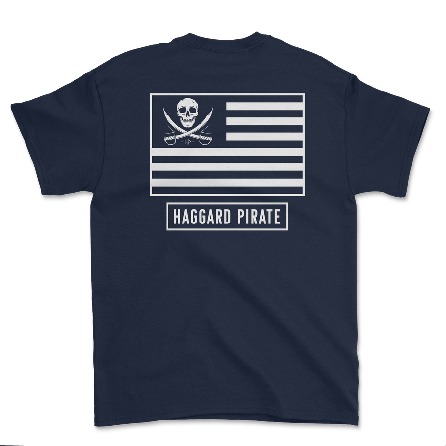 American Pirates Tee - Navy