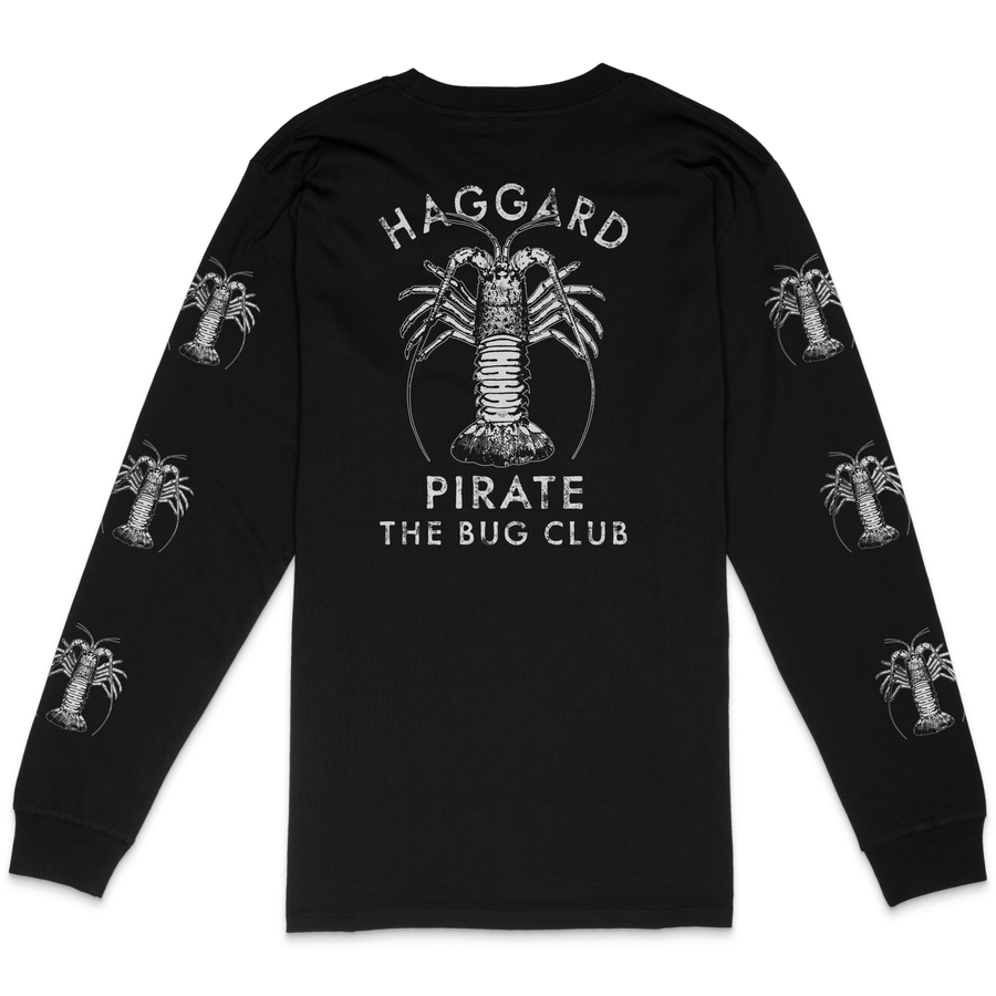THE BUG CLUB LONGSLEEVE - BLACK