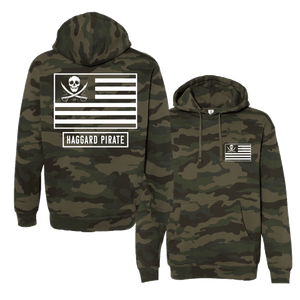Haggard Pirate Camo Hoodie American Pirate Design