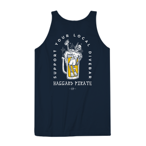 DIVE BAR TANK - NAVY