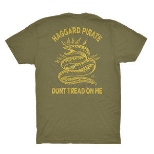 DONT TREAD TEE - MILITARY GREEN
