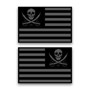 FLAGGED CAR MAGNET (TWO PACK)