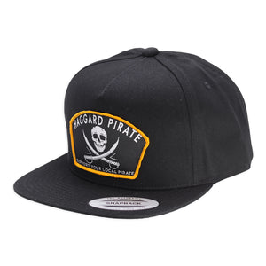 JOLLY ROGER SNAPBACK - BLACK