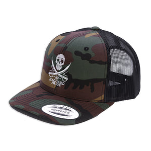 SKULL & SWORDS RETRO TRUCKER
