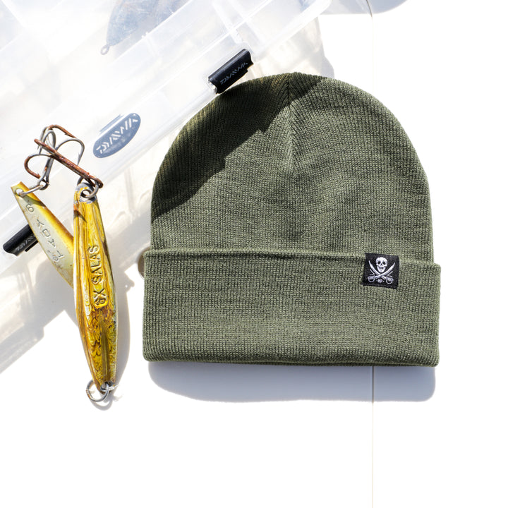 OUTER BANKS BEANIE - OLIVE