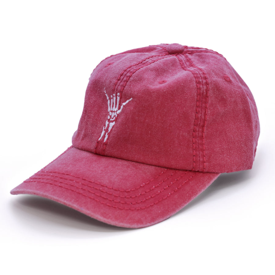 SHAKA DAD HAT - WASHED RED
