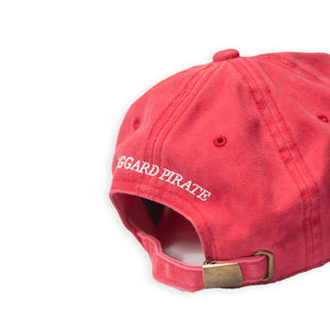 SHAKA CURVED BILL HAT - STONEWASHED RED