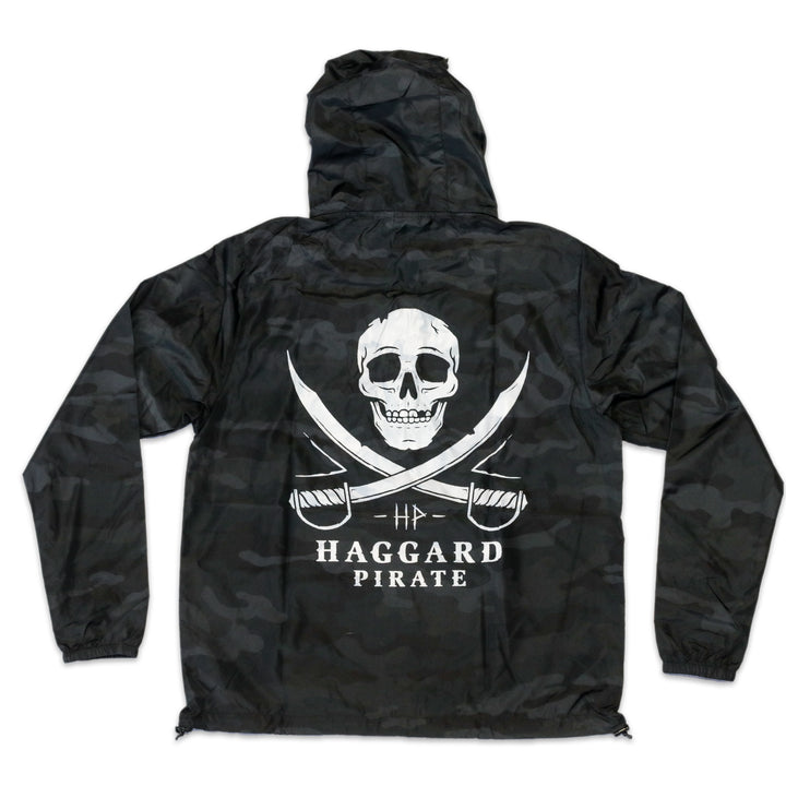 SKULL & SWORDS WATER SHELL JACKET