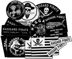 PIRATES STICKER PACK (18 Pc)