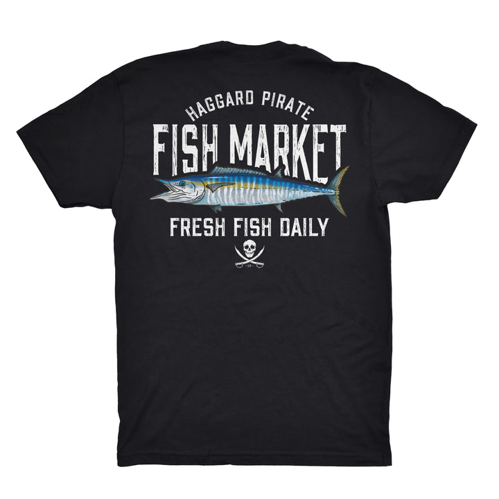 FRESH WAHOO TEE - BLACK