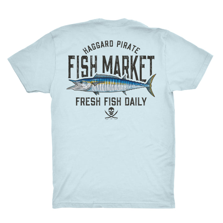 FRESH WAHOO TEE - LT BLUE