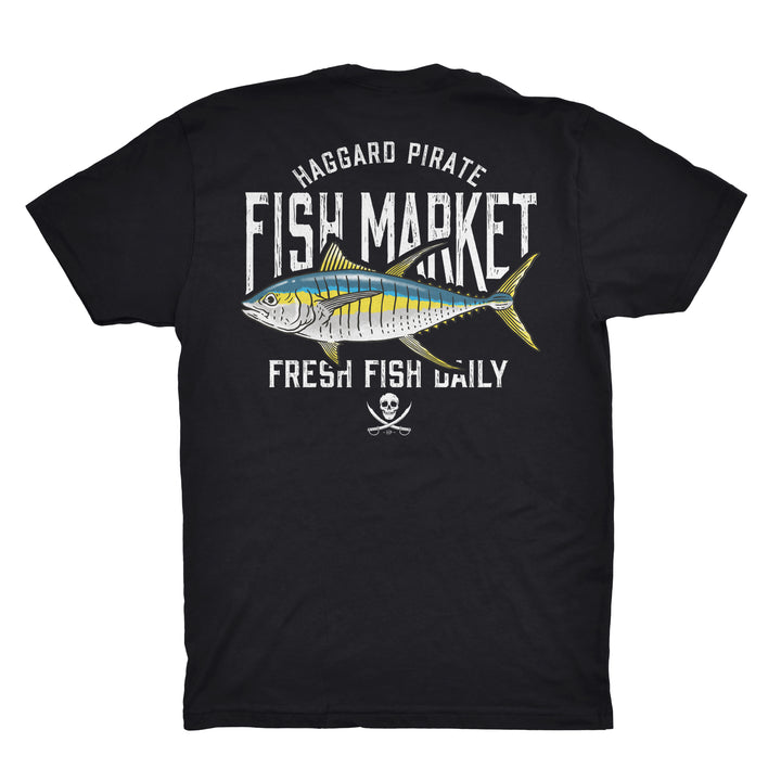 FRESH YELLOWFIN TEE - BLACK