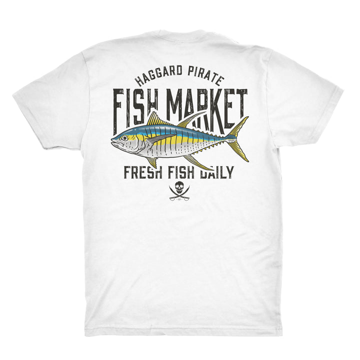 FRESH YELLOWFIN TEE - WHITE