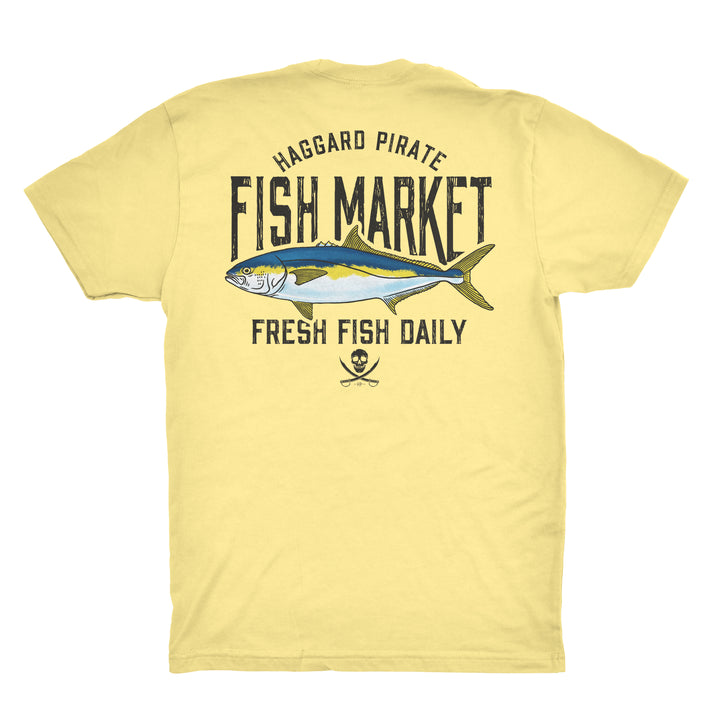 FRESH YELLOWTAIL TEE - BANANA CREAM