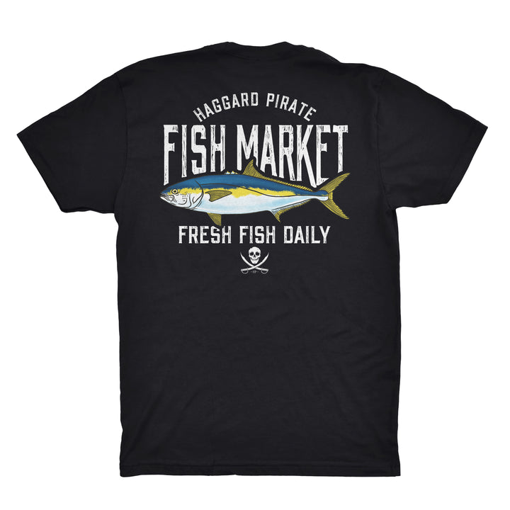 FRESH YELLOWTAIL TEE - BLACK