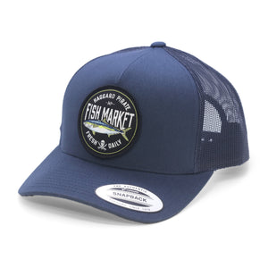 YELLOWTAIL RETRO TRUCKER - NAVY