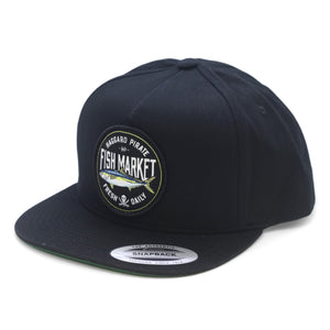 YELLOWTAIL SNAPBACK - BLACK