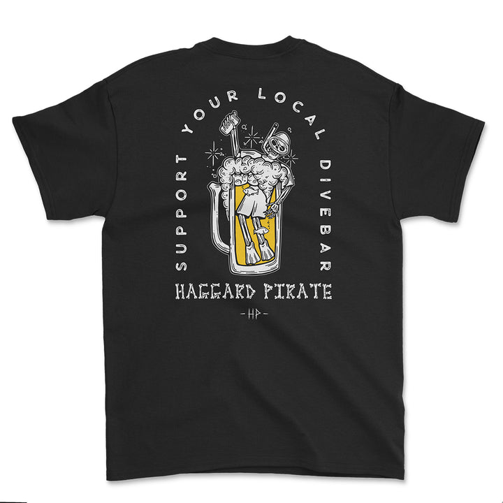 Dive Bar Tee - Black