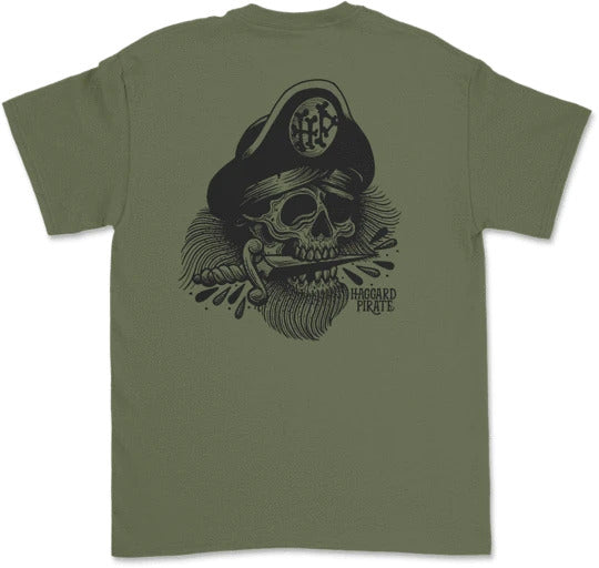 Cutlass Tee - Military Green