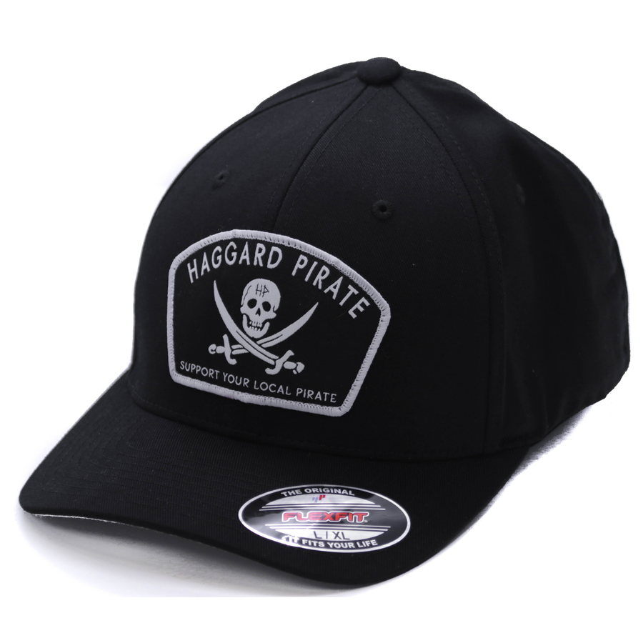 JOLLY ROGER FLEXFIT - BLACK