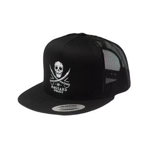 SKULL & SWORDS TRUCKER - BLACK