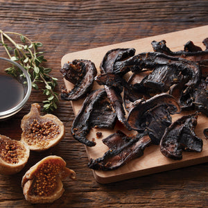 Sweet Balsamic & Golden Fig Portabella Jerky