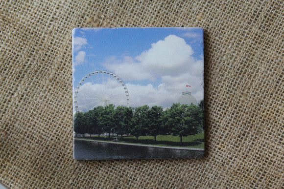 Montreal Ferris Wheel Drink Coaster