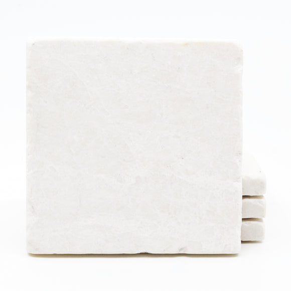 Plain Marble Drink Coasters