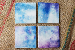 Galaxy Coasters - Starry Night