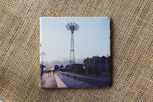 Coney Island Tile Drink Coaster