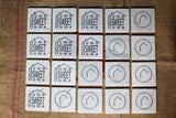 Home Sweet Home Marble Coasters