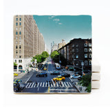 New York City Marble Drink Coaster (Version 3)