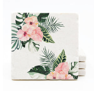 Tropical Floral Coasters