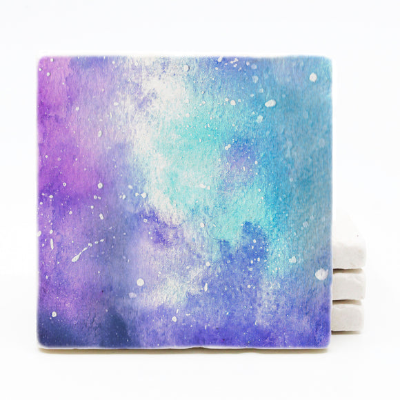 Galaxy Coasters - Starry Night (Version 1)