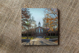 Bentley University Drink Coasters - Fall Themed