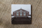 Bentley University Drink Coasters - Winter Themed