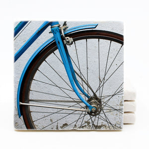 Bike Marble Drink Coasters (Version 2)