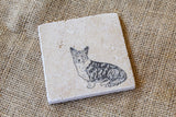 Corgi Coasters, Dog Drink Coasters, Corgi Gifts, Cute Pet Gifts, Pet Loss Gift