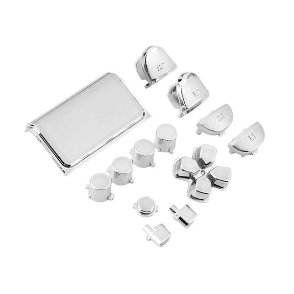 PS4 Chrome Button Replacement Mod Kit for PS4 Controller