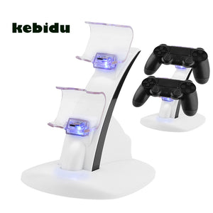 Charging Dock for 2 x PS4 Controllers - White