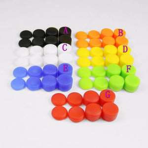 8Pcs Silicone Thumb Grips for PlayStation 4 Controller
