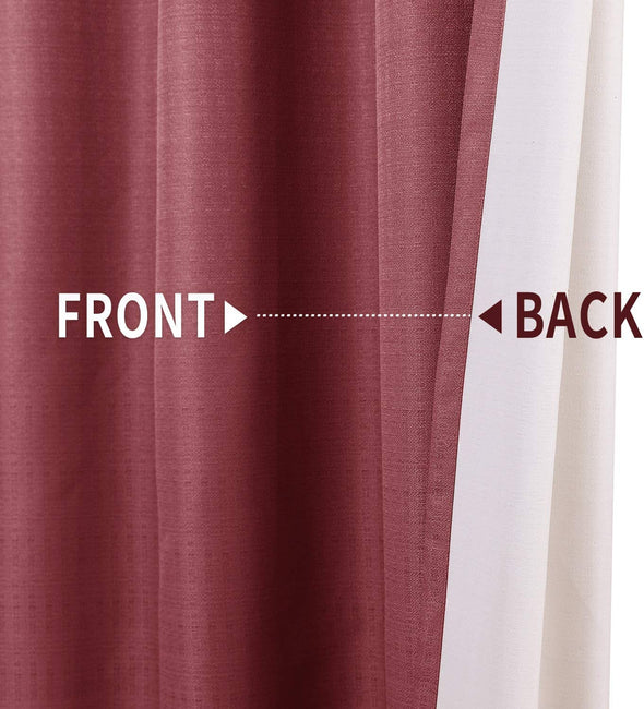 Blackout Curtains for Bedroom Window Curtain Thermal Insulated Drapes 1 Panel