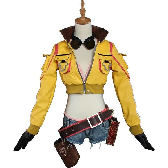 Cindy Aurum Cosplay Costume Final Fantasy XV FF15 FFXV Outfit Full Set